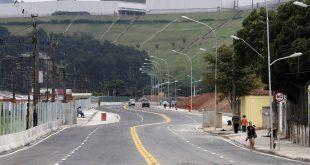 Alckmin entrega trecho Itapevi-Jandira e obras avançam no Corredor Metropolitano Itapevi-São Paulo