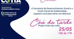Mulheres de Cotia vão ajudar na construção do Projeto Clube das Mães