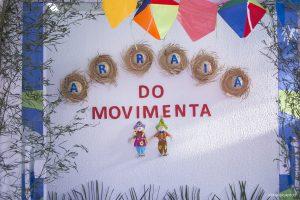 decoração do arraiá da terceira idade de Cotia
