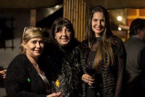 convidadas durante evento de lançamento do livro Tributo a Elas, de Roberto Ferrari