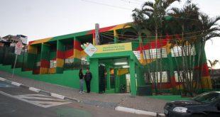 fachada da escola elza marreiro recém reformada