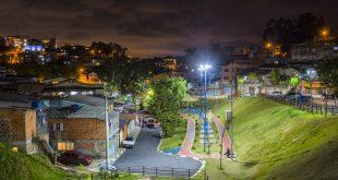 Parque do Jardim Dinorah com nova iluminação
