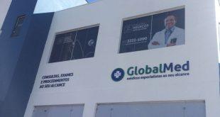 Fachada da GlobalMed Cotia