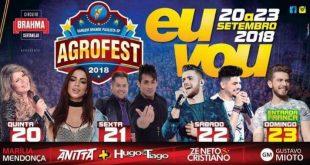 banner promocional do Agrofest 2018