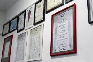 certificados da Bukan Granja Viana