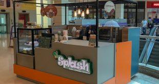 quiosque da Splash no Shopping Granja Viana