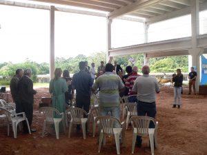 Público participou de orações
