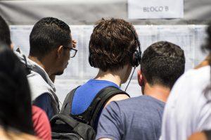 Lista de classificação está na internet e na Fatec em que o candidato deseja estudar (Foto: Gastão Guedes)