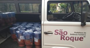 filtros a serem doados pelo CRAS São João Novo e pelo Rotary Club de São Roque