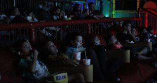 convidados acompanham o filme na sessão Granja Kids do jornal Granja News na Sala junior da Cinépolis do Iguatemi Alphaville
