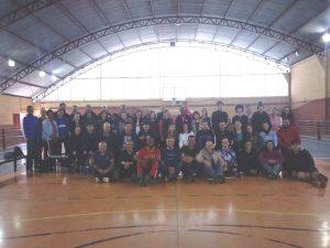 participantes do workshop com Jefferson Sobral em São Roque posam para foto
