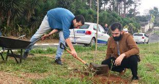 plantio no Jardim Ipê em comemoraçao ao Dia Mundial do Meio Ambiente