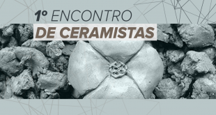 banner do 1º Encontro de Ceramistas de Embu das Artes
