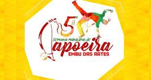 banner da 5ª Semana Municipal de Capoeira