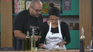 casal granjeiro preparando prato no programa cozinheiros em ação