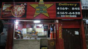 fachada da Pizza Estrela da Granja