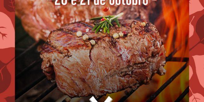 cartaz de divulgação do festival carnívora no Granja Open Air