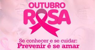banner da campanha outubro rosa em embu das artes