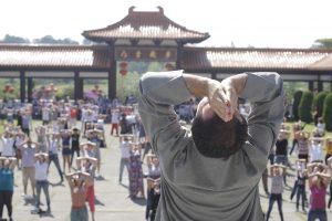 celebração do ano novo chinês no templo zu lai