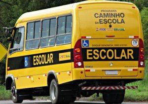 ônibus escolar de são roque