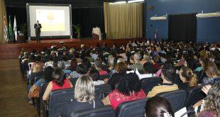 auditório lotado para a 1º Jornada Pedagógica de Jandira