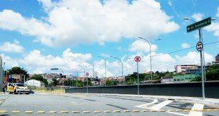 trecho reformulado da Avenida Marginal do Cadaval