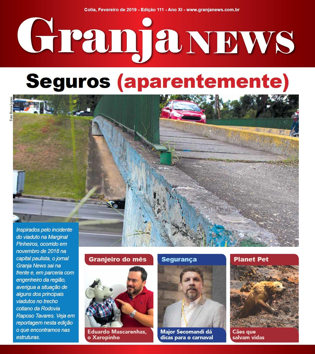 capa da edição 111 do jornal Granja News