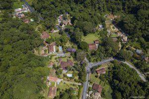 Vista aérea do Jardim Santa Paula