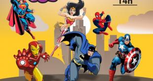 banner de divulgação do evento encontro de cosplay no plaza shopping carapicuíba