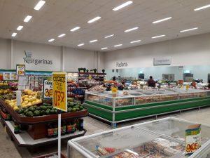 interior de uma unidade do sonda supermercados