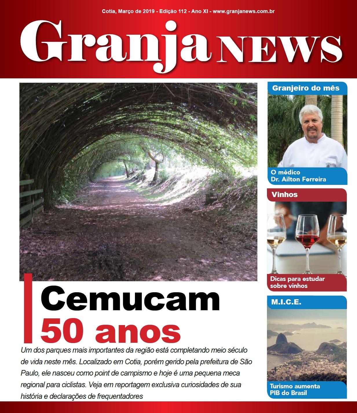 capa da edição 112 do jornal Granja News