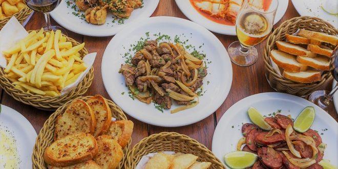 dirversos pratos do cardápio novo da Vila Conte de petistoc psra compartilhar