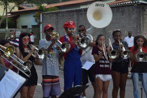 Fanfarra Municipal Schoenacker se apresentando no carnaval de são roque 2019