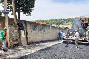 Pavimentação da Rua Betel com Estrada Água Espraiada