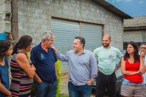 Prefeito Rogério Franco com Moradores