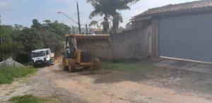 Manuteção de Rua do bairro Recanto Verde