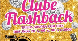 convite para a 5ª edição do clube flashback do são roque clube