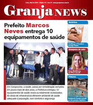capa da edição 113 do jornal Granja News