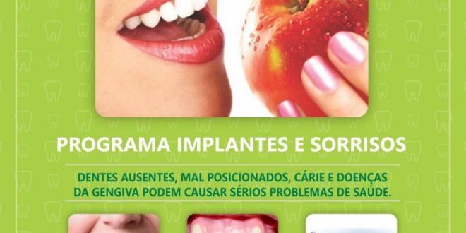 cartaz da campanha sorrindo sempre