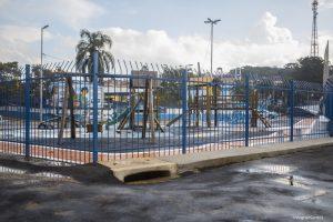 Prefeitura revitaliza área de lazer ao lado do estádio de Caucaia do Alto