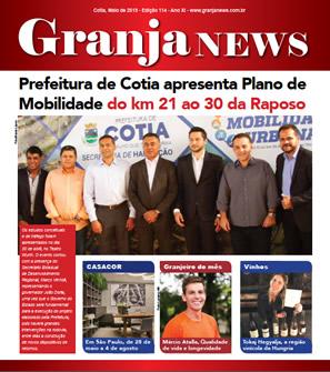 capa da edição 114 do jornal Granja News