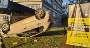 Educação no trânsito é foco de ações na Unidade Granja Vianna do Colégio Rio Branco