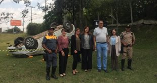 Settrans realiza campanha de educação para o trânsito na região no Jardim Glória