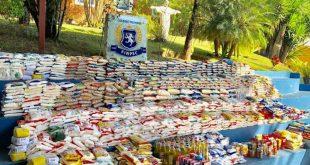 Arraiá e solidariedade: Colégio Desafio arrecada 1400 kg de alimentos para famílias carentes
