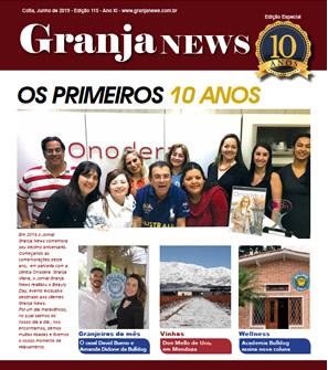 capa da edição 115 do jornal Granja News