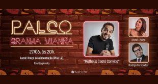 Shopping Granja Vianna recebe Bruna Louise e Rodrigo Fernandes no Palco Granja Vianna de junho