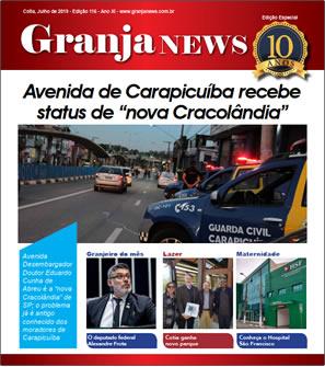 capa da edição 116 do jornal Granja News