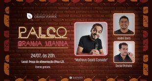 Daniel Pinheiro e André Santi encerram programação do palco Granja Vianna