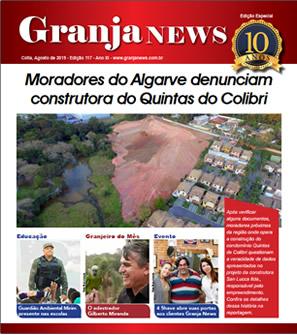 capa da edição 117 do jornal Granja News