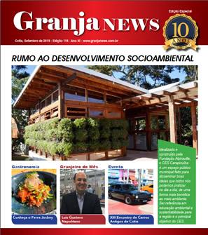 capa da edição 118 do jornal Granja News